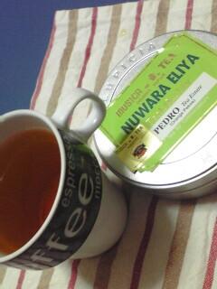 美味しい紅茶と人生初…